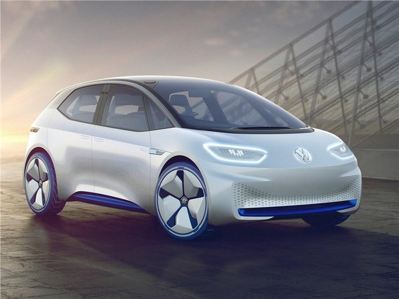 Volkswagen I.D. concept 2016 Электрокары – в массы!