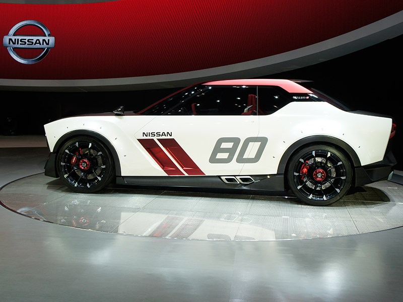 Nissan IDx Nismo Concept 2013 вид сбоку