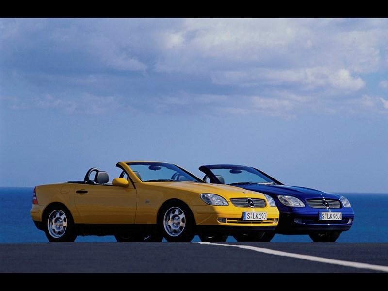 Родстеры Mercedes-Benz SLK фото 1