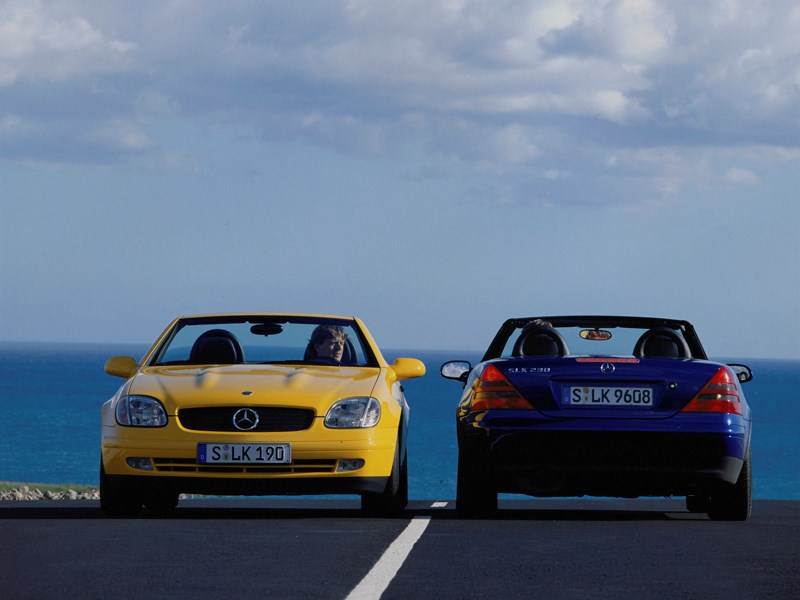 Родстеры Mercedes-Benz SLK фото 2