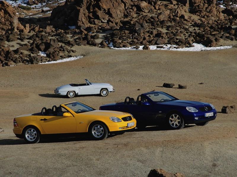 Родстеры Mercedes-Benz SLK фото 3
