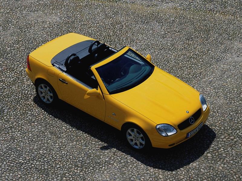 Mercedes-Benz SLK первое поколение