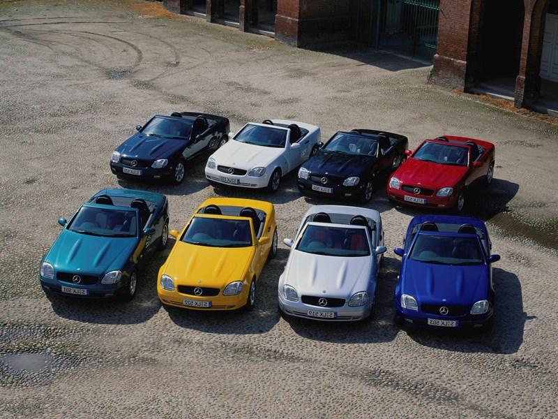 Родстеры Mercedes-Benz SLK фото 4