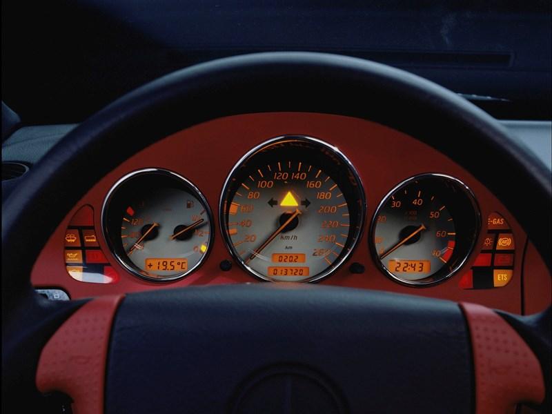 Комбинация приборов Mercedes-Benz SLK