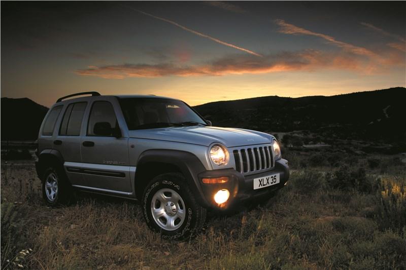 Jeep Cherokee 2001 тест на бездорожье фото 1