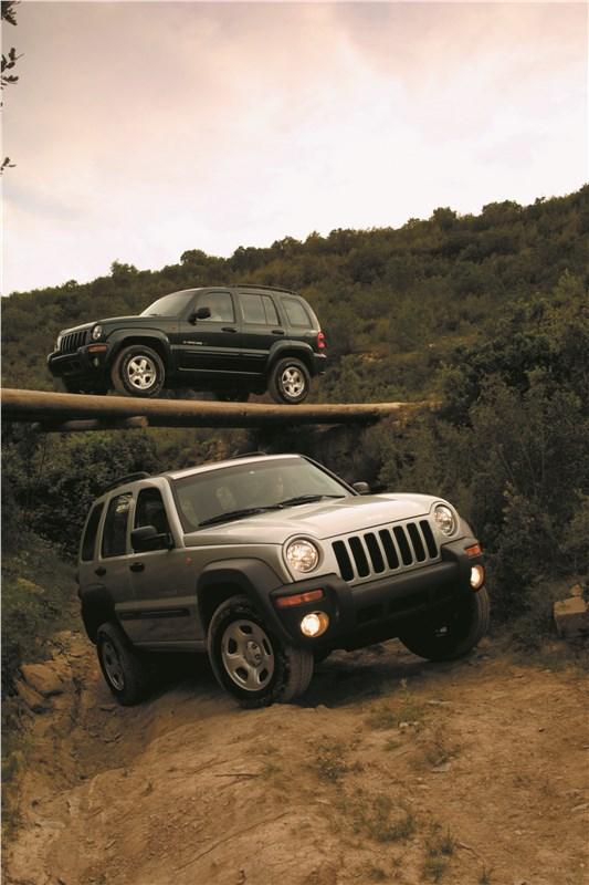 Jeep Cherokee 2001 тест на бездорожье фото 2