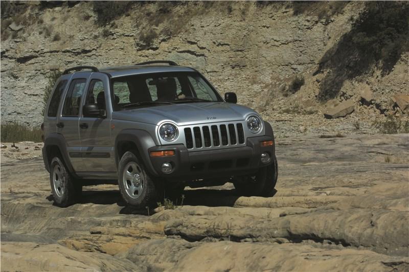 Jeep Cherokee 2001 тест на бездорожье фото 4