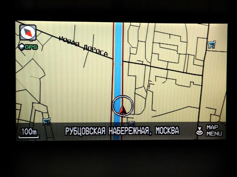 Honda Pilot 2012 навигация