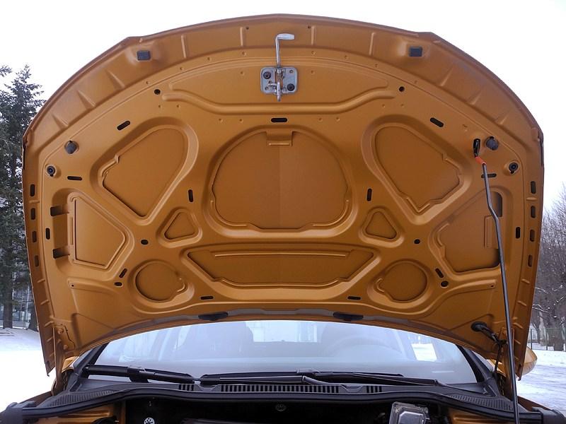 Seat Ibiza 2012 капот
