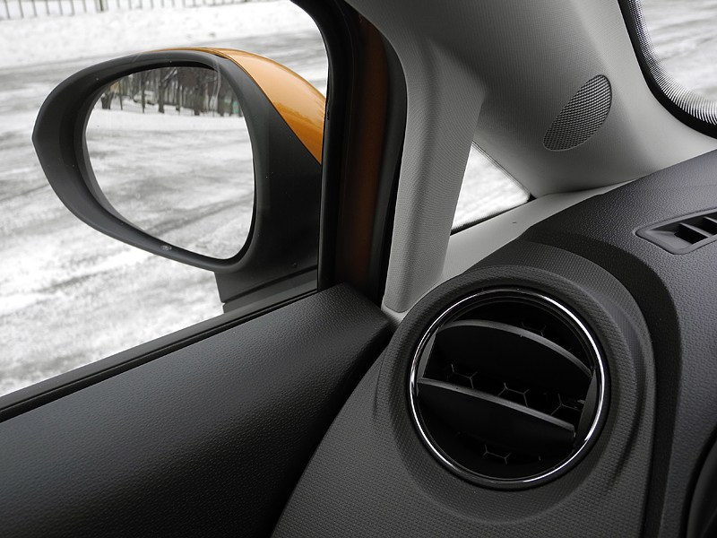 Seat Ibiza 2012 боковое зеркало
