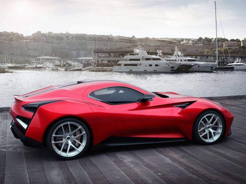 Icona Vulcano спроектирована итальянскими инженерами