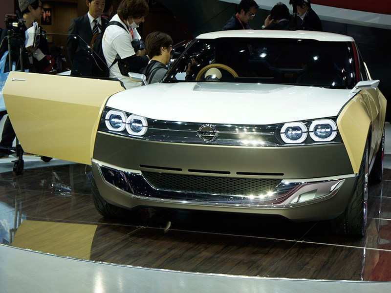 Nissan IDx Freeflow Concept 2013 вид спереди