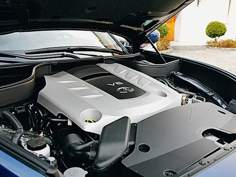 Infiniti FX30d 2012 двигатель