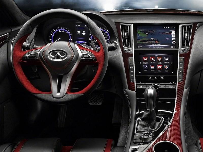 Infiniti Q50 Eau Rouge Concept 2014 водительское место