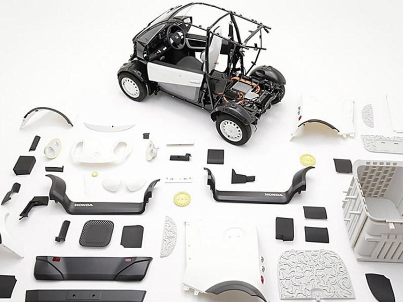 Honda «напечатала» компактный электрокар на 3D-принтере