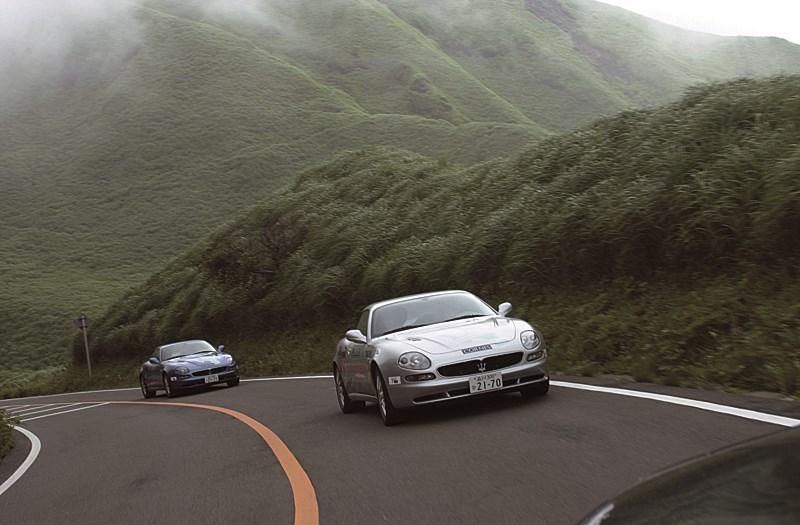 Maserati 3200 GT на трассе