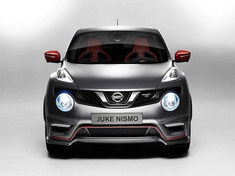 Nissan Juke Nismo RS 2014 вид спереди фото 3