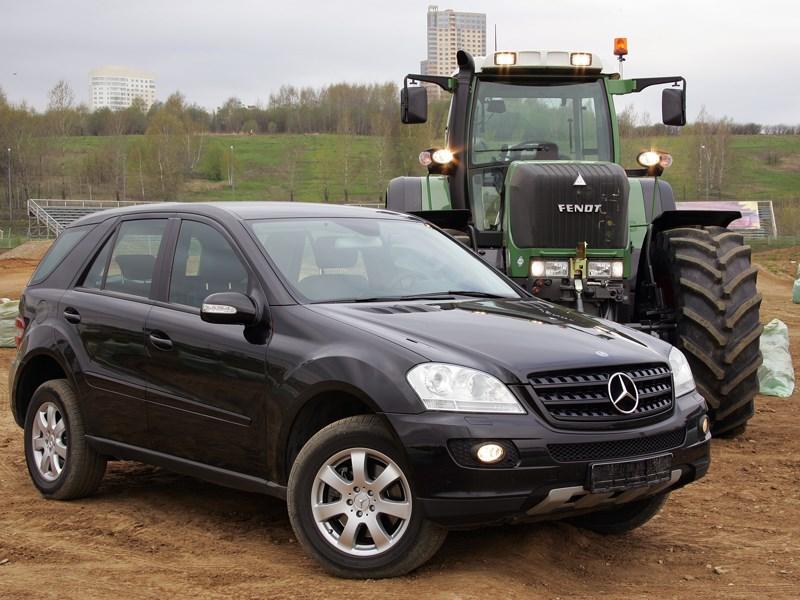 Mercedes-Benz M-Klasse 2005 фото 3
