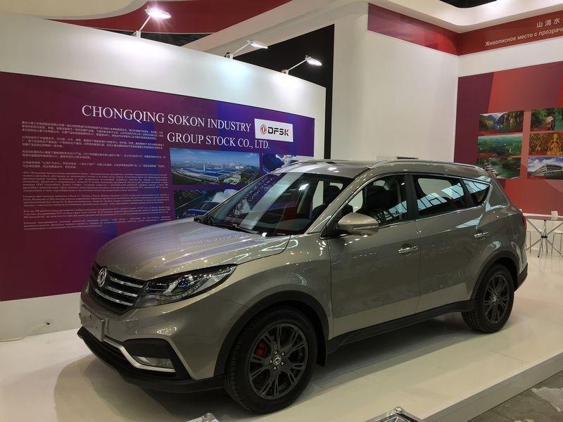 Dongfeng показал в России кроссовер DFM 580 Фото Авто Коломна