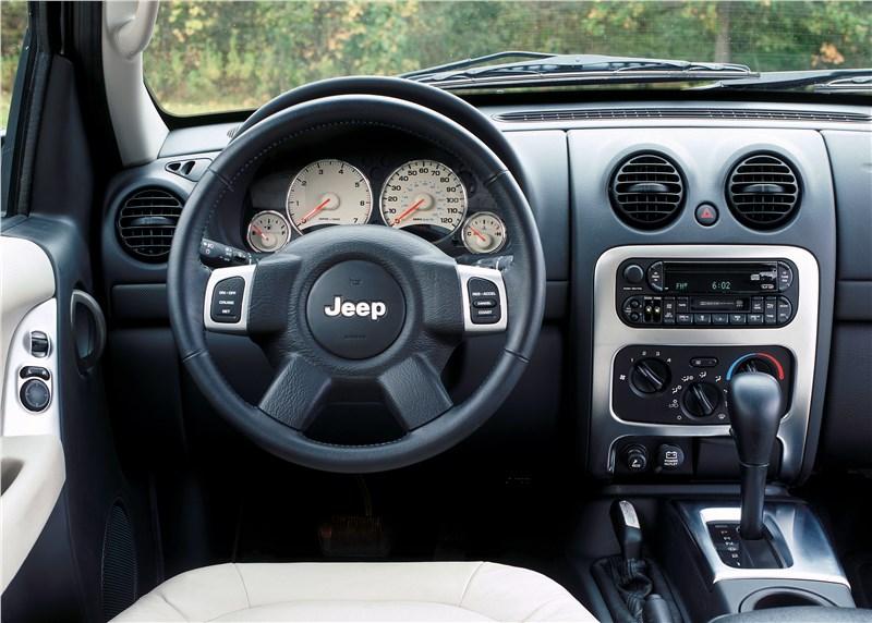 Jeep Cherokee 2001 органы управления и приборы