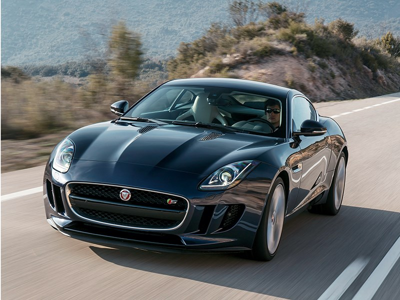 Jaguar F-Type - jaguar f-type 2014 вид спереди