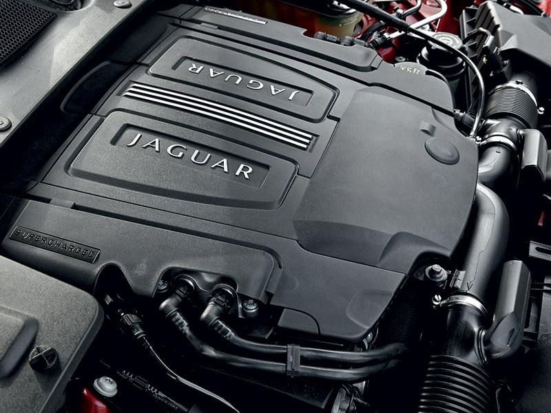 Jaguar XJ 2012 двигатель
