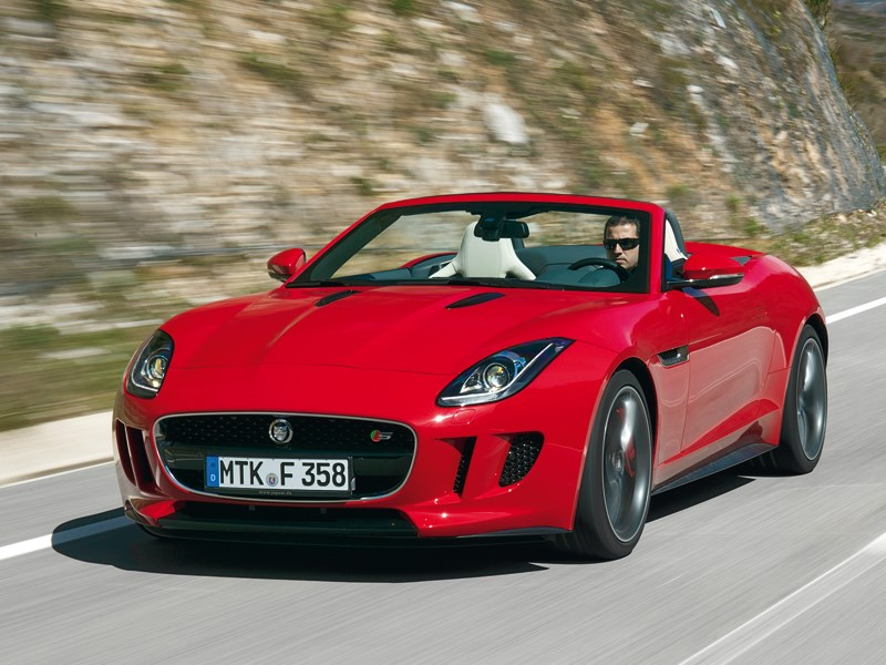Jaguar F-Type - jaguar f-type 2013 вид спереди