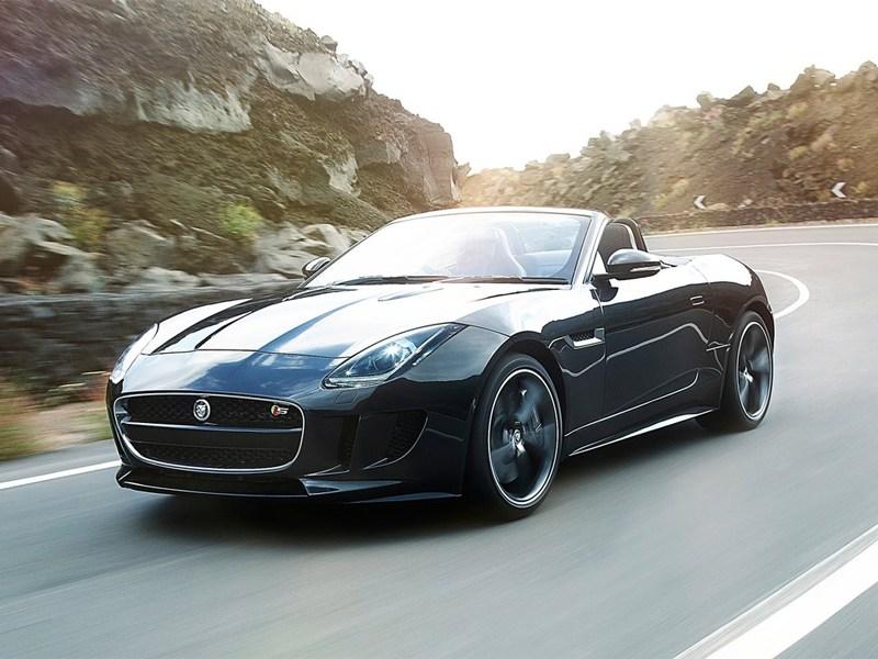 Jaguar F-Type 2013 вид спереди