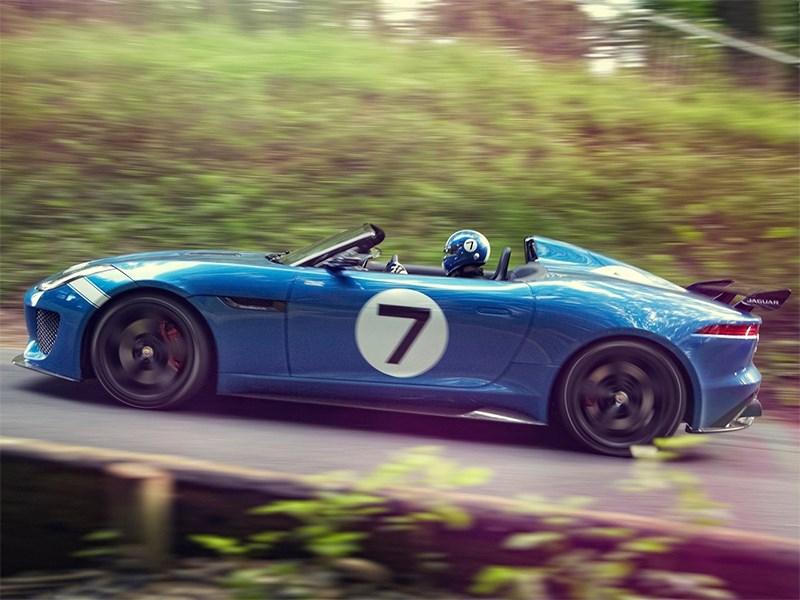 Jaguar Project 7 2013 вид сбоку