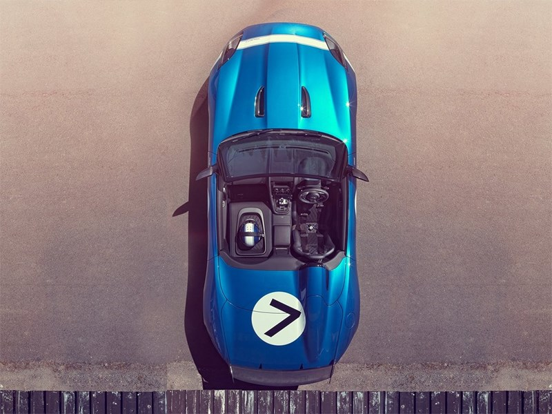 Jaguar Project 7 2013 вид сверху