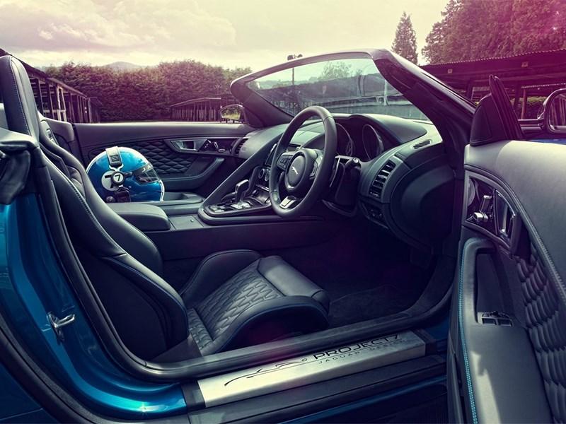 Jaguar Project 7 2013 водительское место