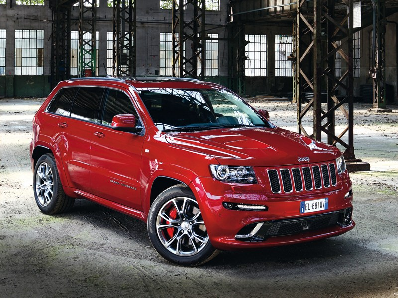 Jeep Grand Cherokee - jeep grand cherokee srt8 2012 вид спереди