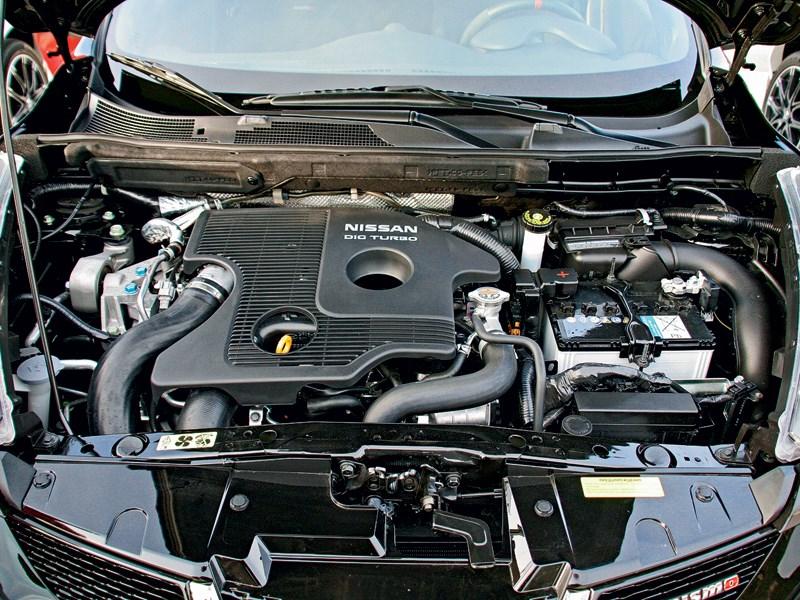 Nissan Juke Nismo 2013 двигатель
