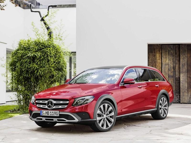 Mercedes везет в РФ новый полноприводный внедорожник All-Terrain