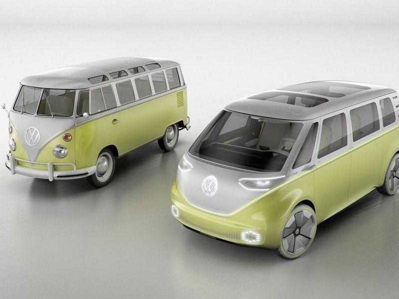 Volkswagen привез в Детройт ретрофутуристичный минивэн