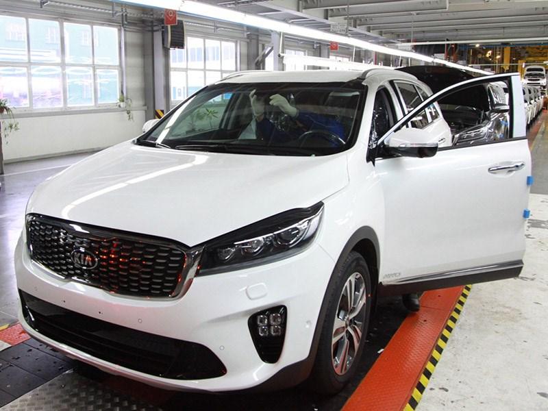 В России начали собирать обновленный Kia Sorento Prime