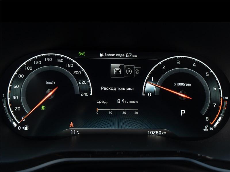 Kia XCeed (2020) приборная панель