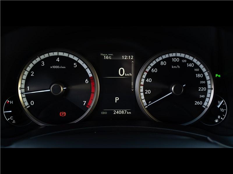 Lexus NX 2018 NX 300 АТ6 приборная панель