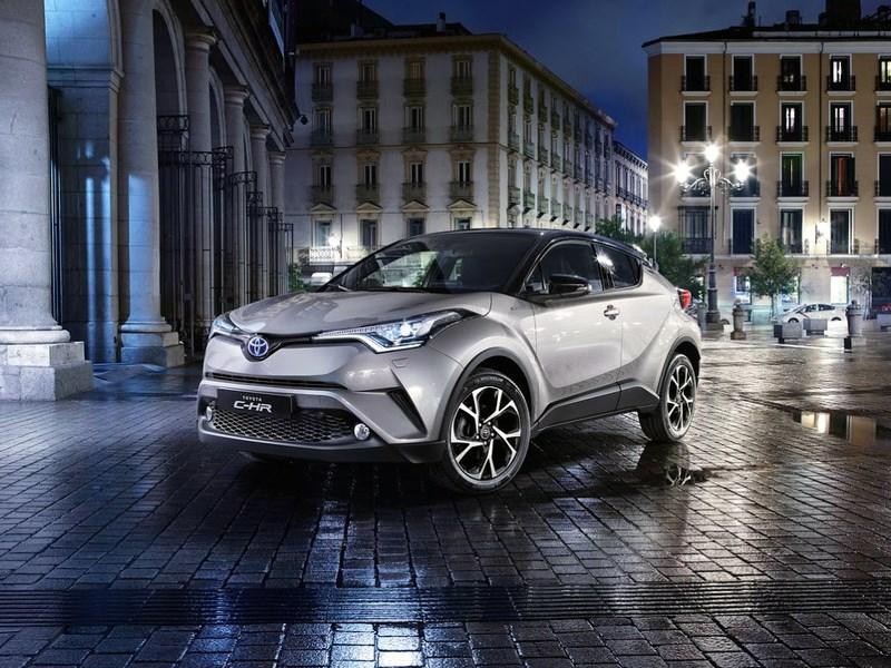 Toyota запустила в серийное производство кроссовер С-HR