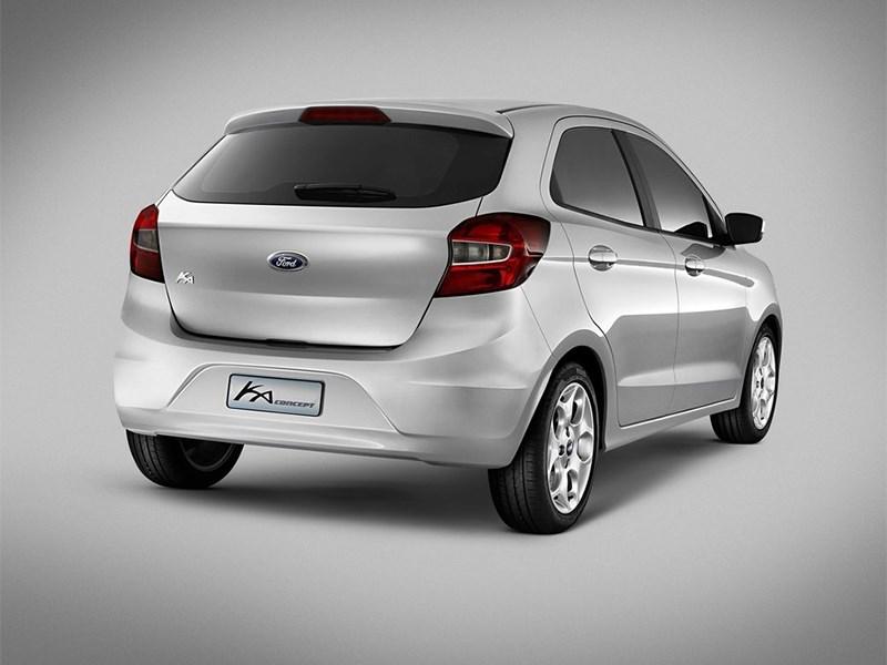 Ford Ka concept 2013 вид сзади
