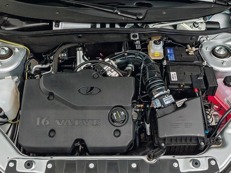 LADA Kalina 2013 двигатель