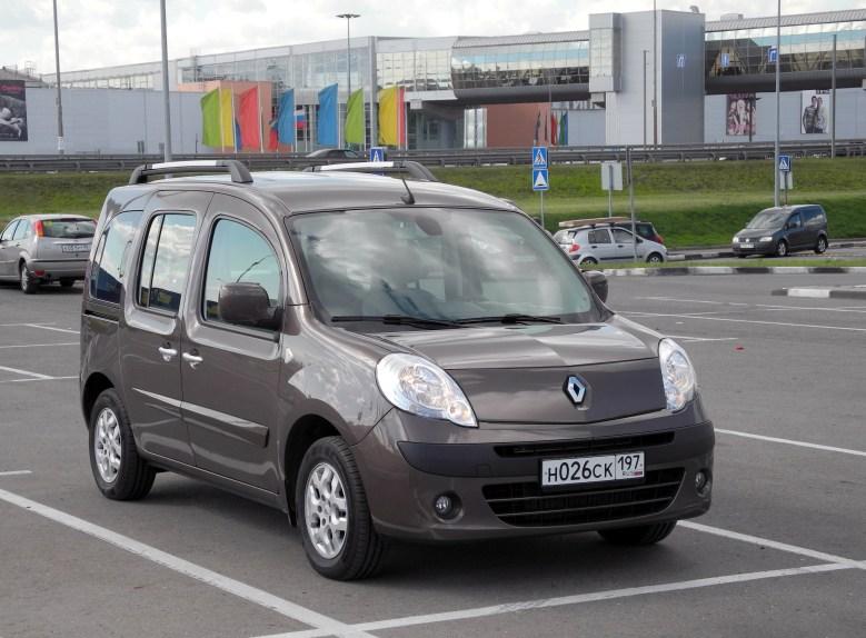 Renault Kangoo 2012 вид спереди
