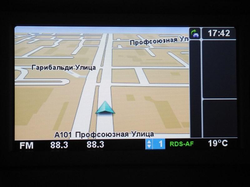 Renault Kangoo 2012 экран навигационной системы Carminat TomTom