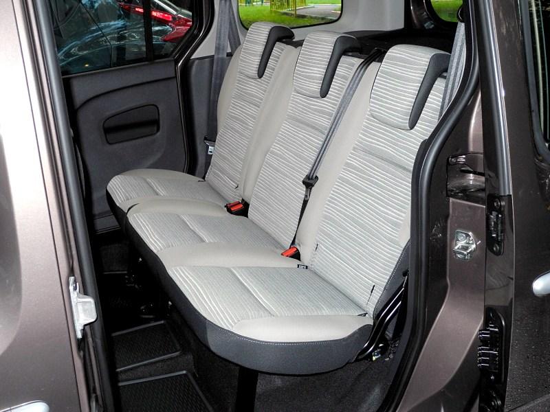Renault Kangoo 2012 задний диван