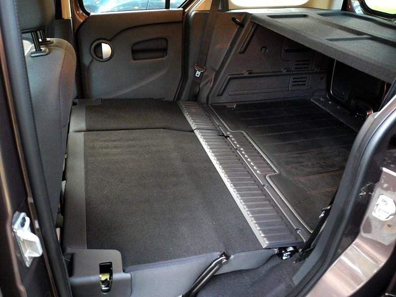Renault Kangoo 2012 багажное отделение