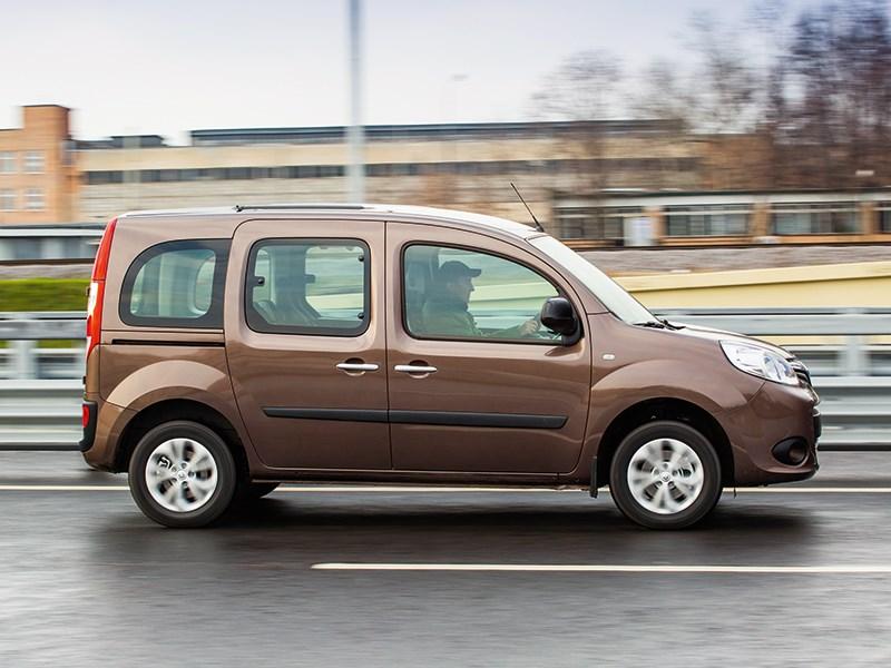 Renault Kangoo 2013 вид сбоку