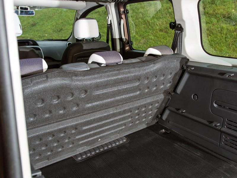 Renault Kangoo 2013 грузовой отсек