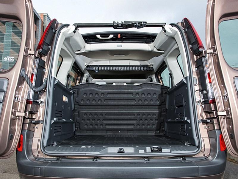 Renault Kangoo 2013 грузовой отсек фото 2