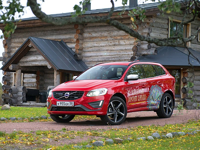 Volvo V40 Cross Country - на volvo 2014 по карелии