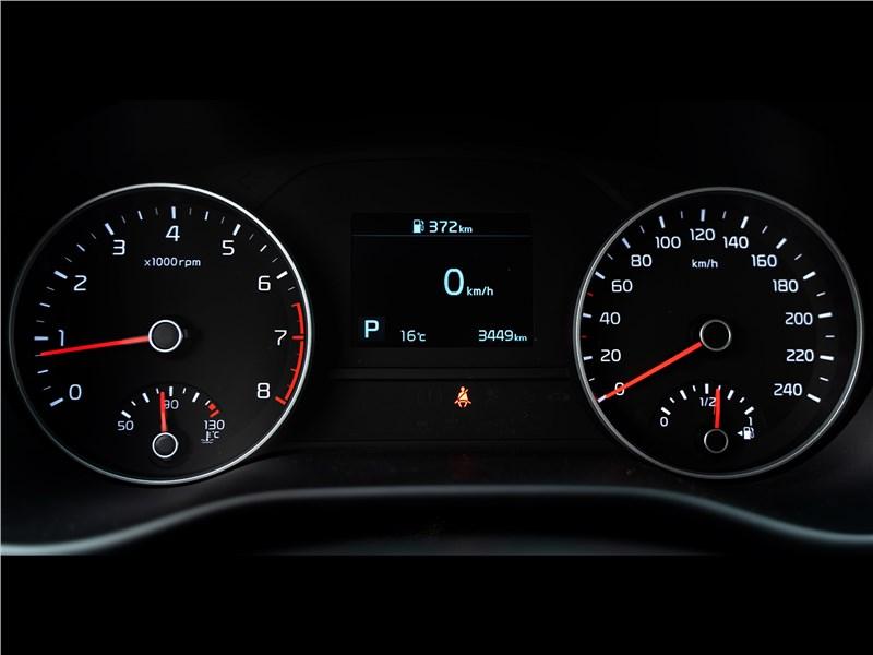 Kia Sportage 2019 приборная панель